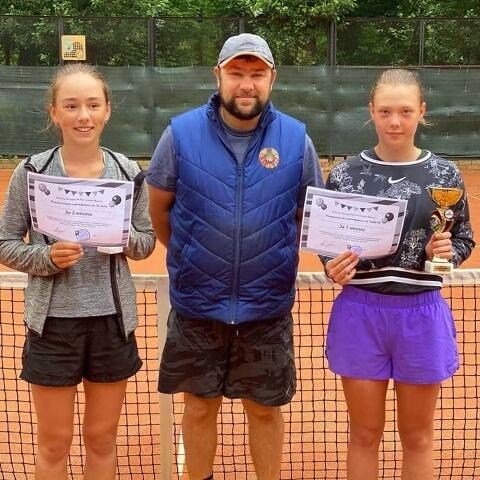 Победительницы на турнире до 14 лет| Babolat Open