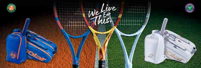 Babolat Wimbledon and Babolat French Open LTD