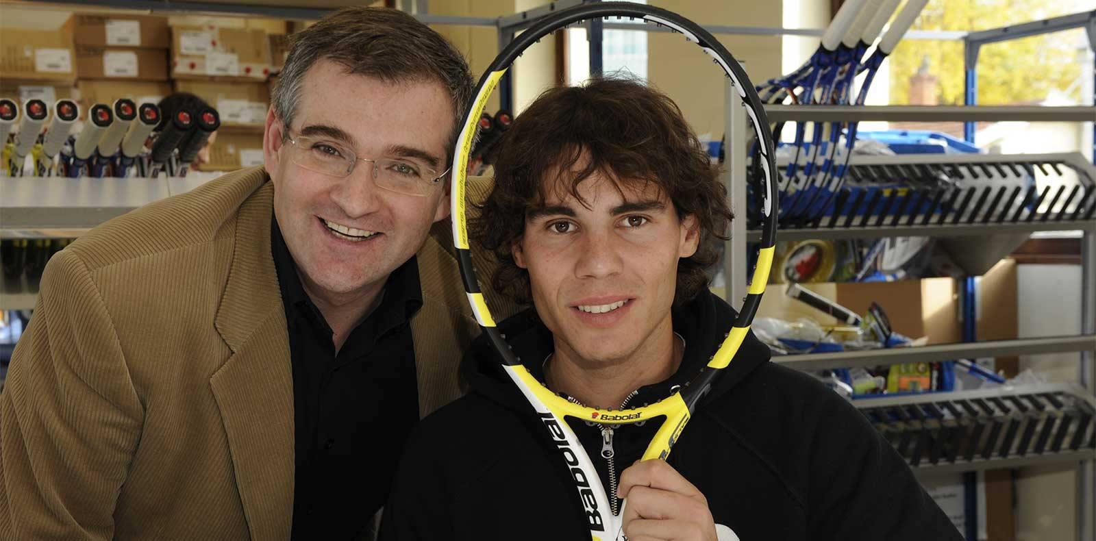 Eric Babolat and Rafael Nadal 2006