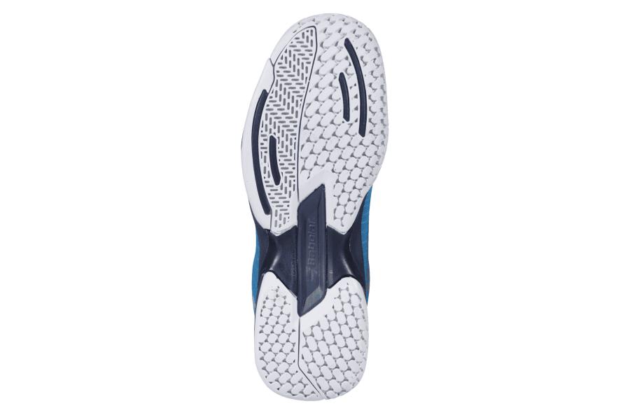 Детские теннисные кроссовки Babolat Jet All Court Junior Тёмно-синие/Чёрные