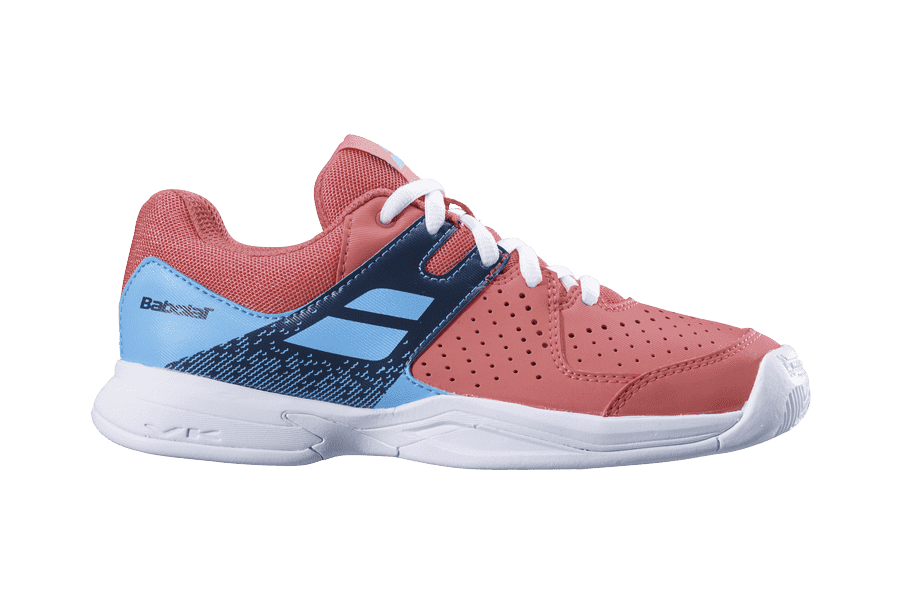 Детские теннисные кроссовки Babolat Pulsion All Court Голубые/Розовые
